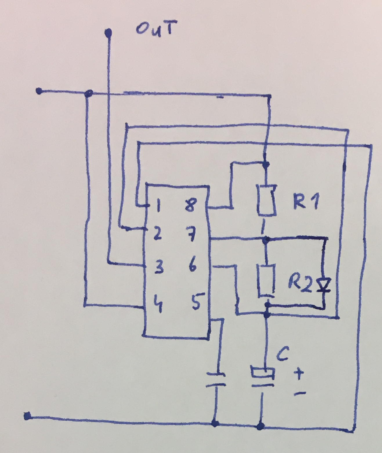 555 Tutorials Timer Circuit Further Long Duration On Off Delay Connections Of A In Equal Astable Modee
