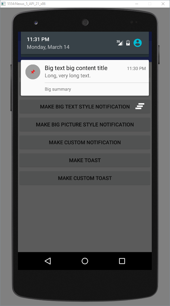 Messaging with Toasts and Notifications - Tutorials
