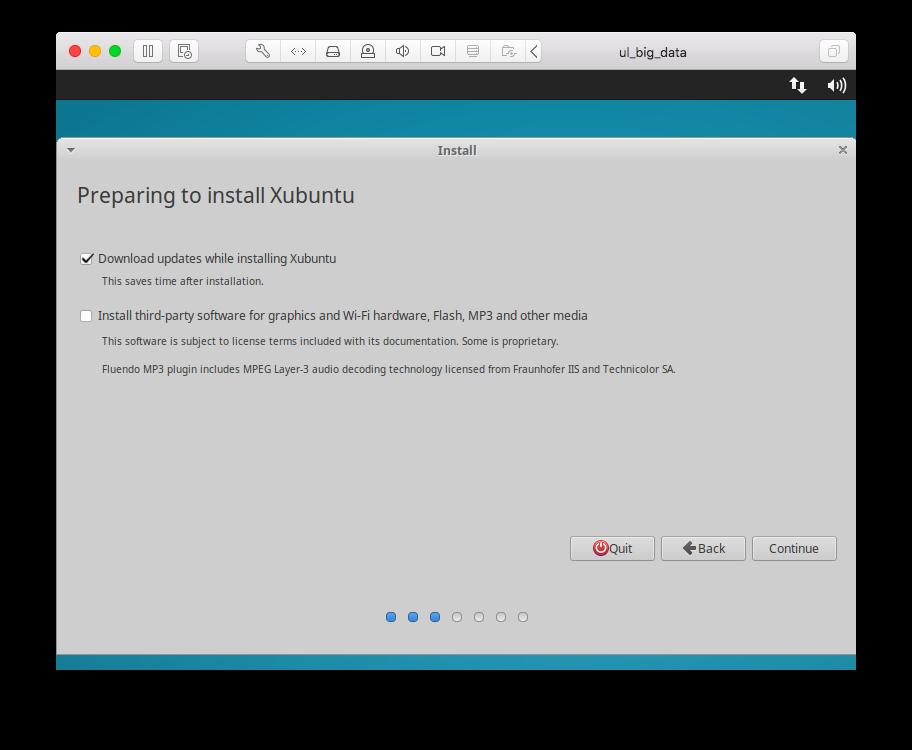 Virtual machine and Anaconda installation and configuration